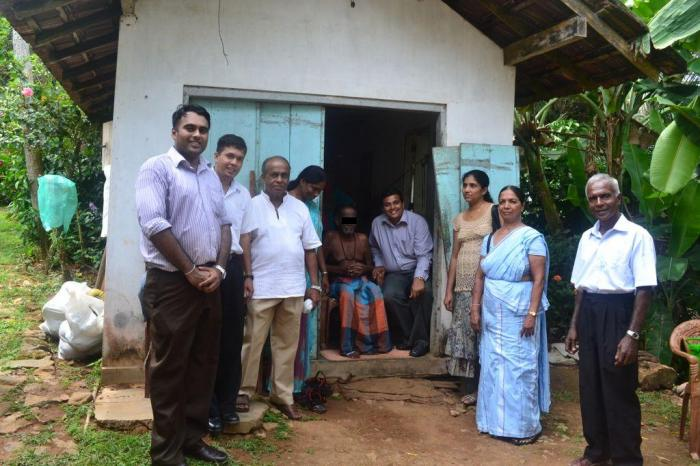 Home Based Palliative Care Team during a home visit