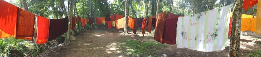 Panoramic view of the washed Robes