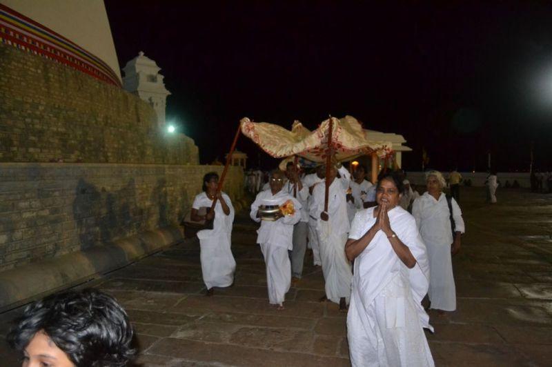 Dethis Maha Purushalakshana Puja